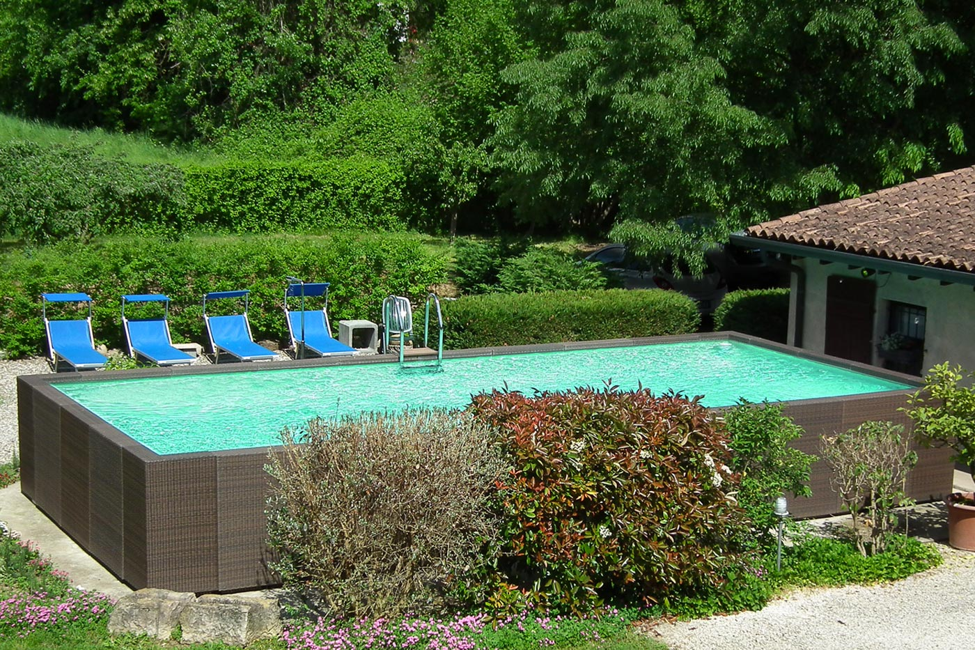 pool bed and breakfast garda